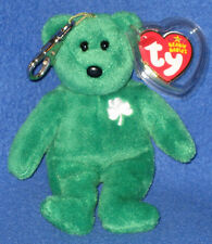 TY BEANIE BABY KEY CLIPS - ERIN the BEAR - MINT with MINT TAGS