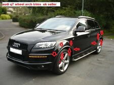 AUDI Q7 S LINE WHEEL ARCH TRIMS FULL KIT FACELIFT LIP CONVERSION FENDER RSQ7 V12