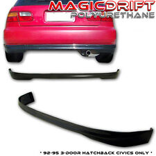 EG Honda Civic Hatch Type R TR REAR Bumper Lip Urethane