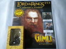 Lord of the Rings Figures Issue 153 Gimli at Helms Deep - eaglemoss