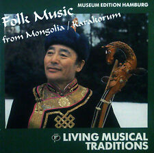 CD LIVING Musical Traditions-folk music from Mongolia/Karakorum