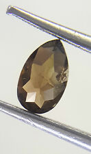 African Loose Antique Natural Diamond Pear shape Cognac Yellow Color 0.34TCW