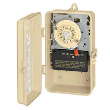 INTERMATIC Swimming Pool Spa Mechanical Timer Indoor/Outdoor 220V 24hr T104P3