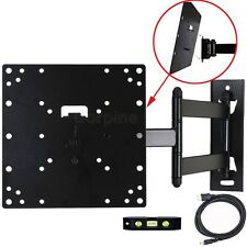 Full Motion Tilt TV Wall Mount 23 24 26 28 32 37 39 40LCD LED Swivel Bracket 1C8
