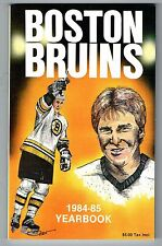 1984/85 Boston Bruins NHL Hockey Media GUIDE