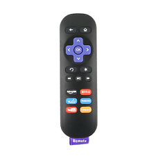 New Replaced Remote for Roku 1 2 3 4 LT HD XD XS with Netflix Youtube Vudu Key