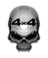 2 Skull Decal - 4x4 Truck Skull Sticker Off Road Mudding Mud Graphic ipad decals