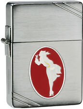 Zippo Limited Edition Numbered 2013 Windy Girl Lighter In Presentation Box 28729