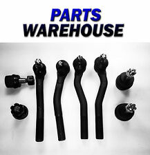 8 Pc Suspension Steering Kit for Jeep Grand Cherokee 99-04 Joint End 2 Yr Warran