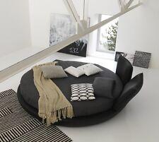 LETTO ROTONDO TONDO BZ-MIAMI pvc ROUND BED MATERASSO MOLLE qualità+ Bolzan Letti