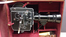 Paillard Bolex H16 Reflex Camera, 4 lenses, Kern, Switar, Pan Cinor, TONS of Xrt