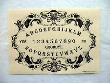 OUIJA BOARD PARCHMENT POSTER pagan seance contact dead spirit ghost haunted