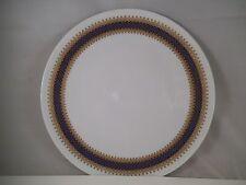 Vintage Winterling Marktleuthen Bavaria Salad Plate Cobalt Blue Gold
