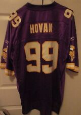 NFL Minnesota Vikings Chris Hovan #99 Replica Jersey Size XL by Reebok EUC