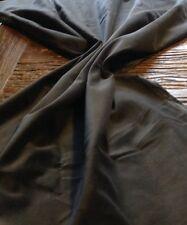 FAT QUARTER (50 X 70CM) GRIGIO SCURO Vellutino Tessuto - 100% Cotone
