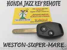 FITS HONDA JAZZ KEY REMOTE N/S JAZZ 2009 - 2011 + NEW UNCUT KEY BRISTOL