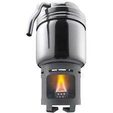 ESBIT STAINLESS STEEL COFFEE MAKER & SOLID FUEL STOVE BUSHCRAFT SURVIVAL CAMPING