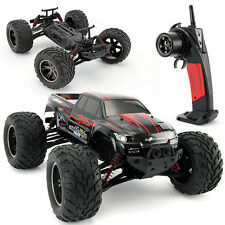 9115 2.4G 1:12 Scale RC Monster Truck Remote Control Off-road Car High Speed Red