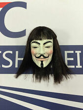 Toys Power V for Vendetta Real Hair Head Sculpt loose 1/6th scale