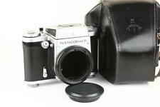 Pentacon Six Camera Medium Format 6x6 SLR Body with Case Exc! Tested!
