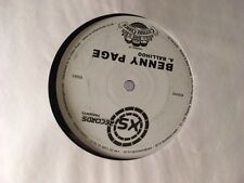 """Benny Page – Balihoo / Rocker Switch 12"""" Drum and Bass Vinyl XS Records 2005"""
