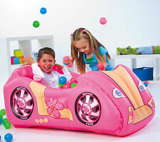 Race Pink Car AND Game Ball Pit Combo -Splash And Play ** GREAT FUN / GIFT **