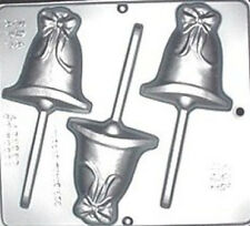 Wedding Bell Lollipop Chocolate Candy Mold Baby Shower  661 NEW