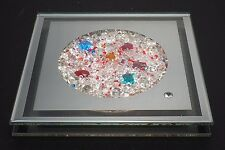 SWAROVSKI KRISTALLWELTEN WALL ORNAMENT WITH DISPLAY STAND IN BOX