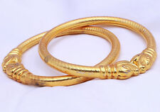 Indian Traditional Bollywood Ethnic Gold Plated 2 pieces Bangles Set Jewelry