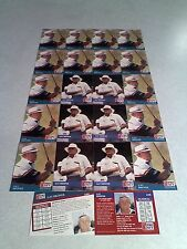 *****Gay Brewer*****  Lot of 22 cards.....2 DIFFERENT / Golf