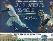 1964 All Star Game Program Shea Stadium Callison Belts Walk Off Winner BEAUTY!!