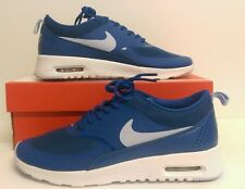 Nike Air Max Thea Womens Brigade Blue/White Trainers Size 4 UK 599409 410
