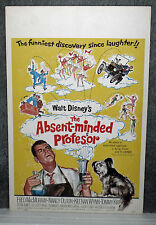 The Absent-Minded Professor original Disney 1961 movie poster Skye Terrier