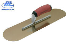 """NEW Marshalltown Swimming Pool Trowel Gold Stainless Steel 16"""" x 4 1/2"""" SP16GSD"""