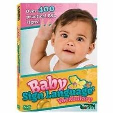 Baby Sign Language Vocabulary DVD  Learn to Communicate with Your Baby   NEW