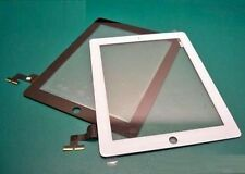 Apple iPad 2 Digitizer Touch pad with Front panel Glass Cover in white