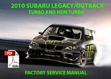 ***FACTORY SERVICE MANUAL 2010 SUBARU LEGACY/OUTBACK TURBO/NON TURBO XT , H6 PDF
