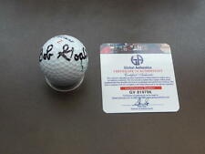 BOB GOALBY AUTOGRAPHED MASTERS GOLF BALL GAI AUTHENTICATED 100 PERCENT AUTH