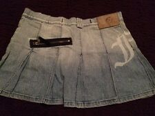 Fake London Genius Denim Mini Skirt Size 26 (8)