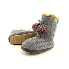 Cuddl Duds Cable Knit Fleece Lined Boot Slipper Women US 7 Pre Owned  1029