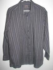 CALVIN KLEIN MEN'S LONG SLEEVE BUTTON FRONT SHIRT XL 44 17 1/2 32/33