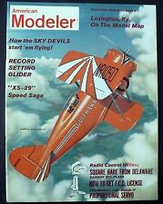 VINTAGE AMERICAN MODELER MAGAZINE SEPTEMBER 1962