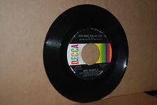 BOB DYLAN REL.: RICK NELSON & STONE CANYON BAND; LOVE MINUS ZERO NO LIMIT 45 RPM