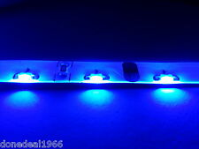 BLUE MODDING PC MOLEX SINGLE 40CM STRIP MOBO BACKLIGHT CASE LED STRIP