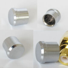 1x High Quality Noise Stopper Rhodium Plated Copper Dust Cap for RCA Jack Female