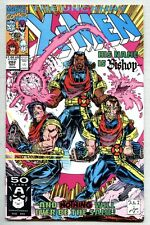 Uncanny X-Men #282-1991 nm- Portacio 1st Bishop