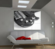 Bass large giant music poster print photo mural wall art ia506