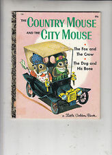 VTG. LITTLE GOLDEN BOOK THE COUNTRY MOUSE and the CITY MOUSE HC 1961 #426