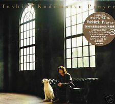 Toshiki Kadomatsu - Prayer Japan BOX CD+BOOK NEW J-POP