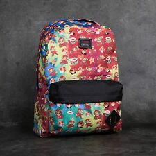 Vans Skate Co. Mario Nintendo Old Skool II Red Mens Unisex Backpack School Bag